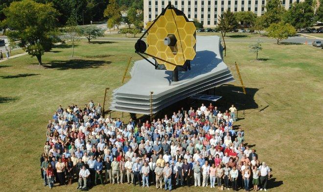 NASA выпустило потрясающее видео о подготовке космического телескопа JWST к миссии