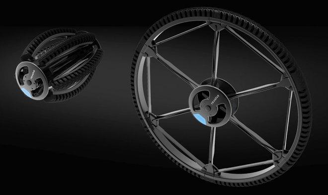 Германский дизайнер разработал складное колесо
