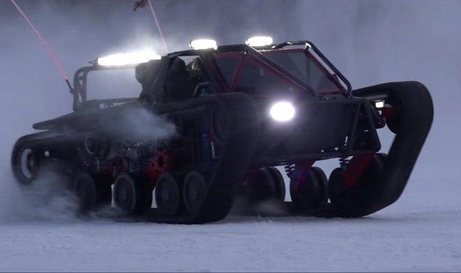 Видео гоночного танка Ripsaw EV3-F1 появилось винтернете