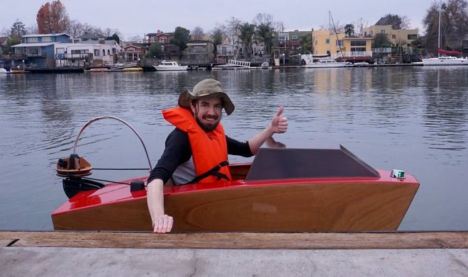 Rapid Whale — микро-лодка, которую можно собрать своими руками