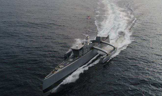 DARPA проинформировала ВМС США беспилотный охотник заподводными лодками