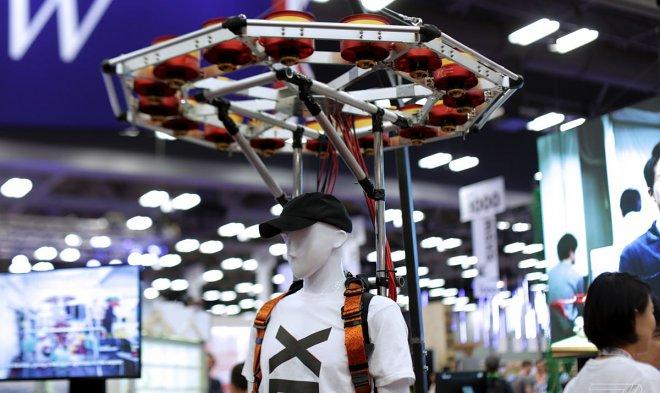 Японский стартап разрабатывает рюкзак, который увеличит прыгучесть человека в несколько раз