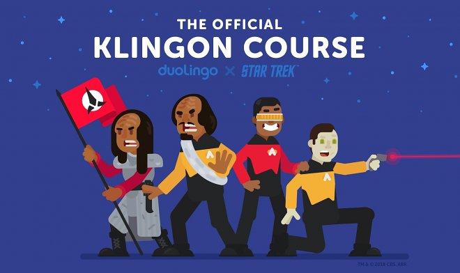 На Дуолинго появился официальный курс клингонского языка