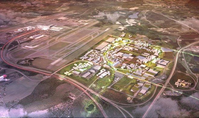 Норвегия планирует превратить аэропорт Осло в утопический «город будущего»