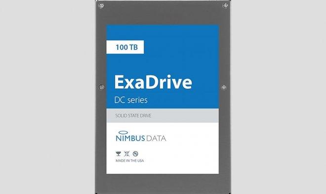 Компания Nimbus Data выпустила самый емкий SSD-диск в мире — на 100 терабайт