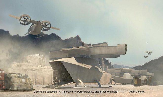 Корпус Морской пехоты США опубликовал свои требования к беспилотнику будущего