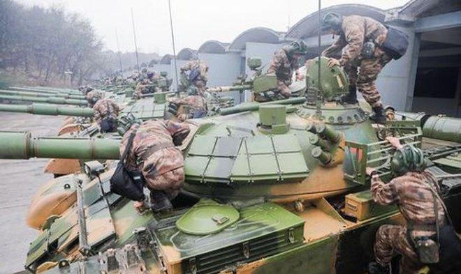 Китай экспериментирует с боевыми танками на дистанционном управлении