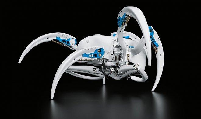 Ученые создали роботов, сходных напаука илетучую лисицу
