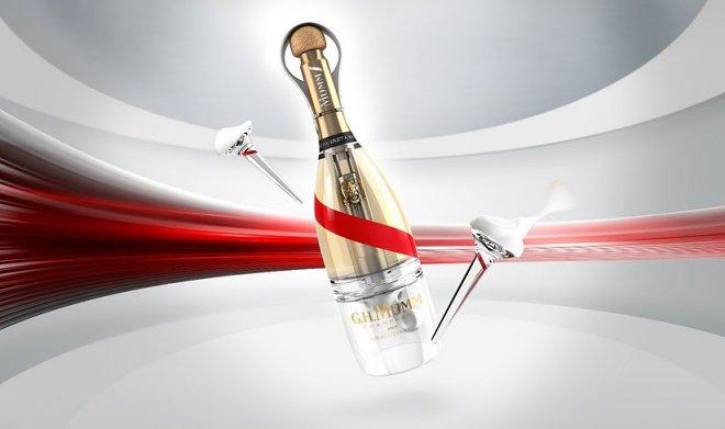 Mumm Grand Cordon Stellar – необычная бутылка для космического шампанского