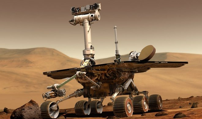 Opportunity сражается за свою жизнь посреди чудовищного марсианского шторма