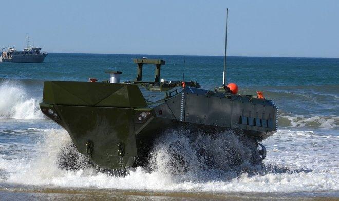 Морская пехота США нашла замену устаревшим боевым амфибиям