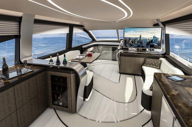 Роскошная яхта LY 650 от Lexus выходит в открытое море