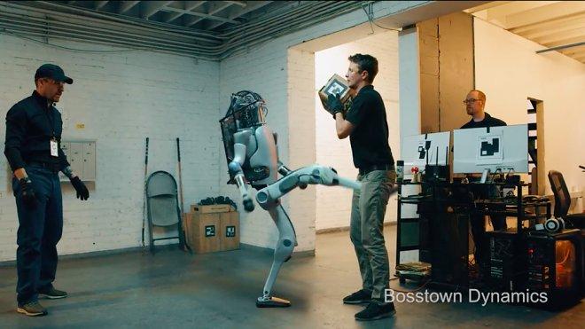 Фейк с роботами Boston Dynamics