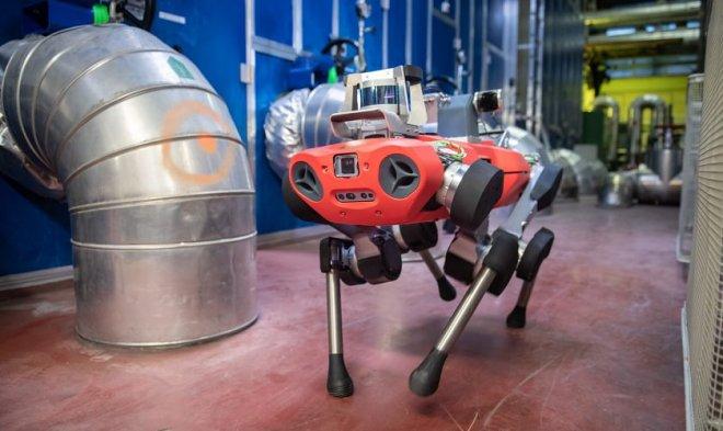 Швейцарская ANYbotics представила коммерческую версию четырехногого робота ANYmal