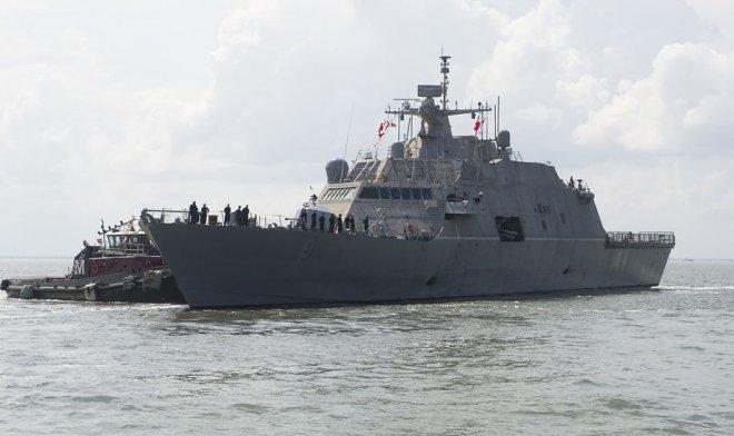 Самый маленький военный корабль США оснастят мощным боевым лазером