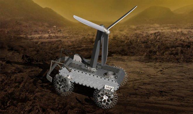 NASA предлагает вам спроектировать важную деталь для будущего ровера