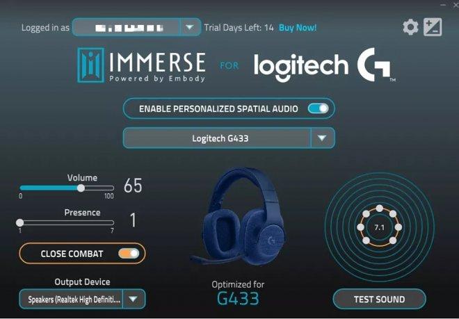 Отправьте Logitech снимок своего уха, чтобы получить уникальное преимущество в видеоиграх