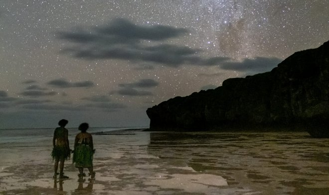 Ниуэ ночью