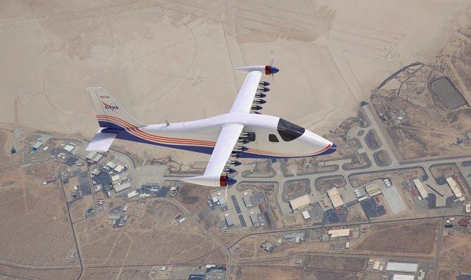 Электролет X-57