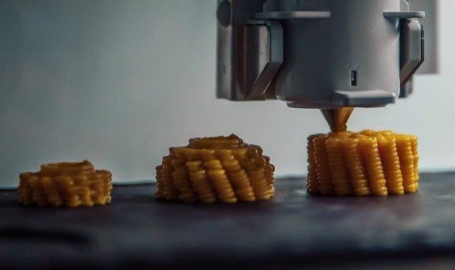 Еда из 3D-принтера