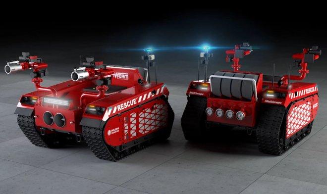 Роботы-пожарные