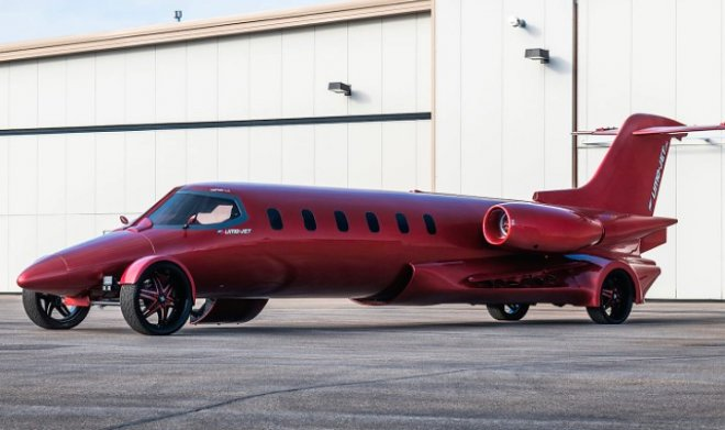 Гибрид Learjet