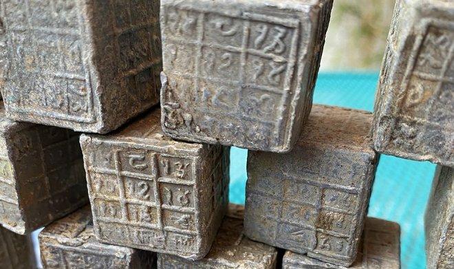 Индийские кубики