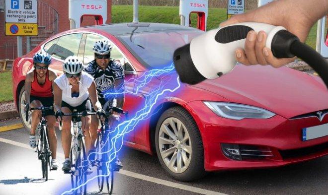 Велосипеды и Тесла