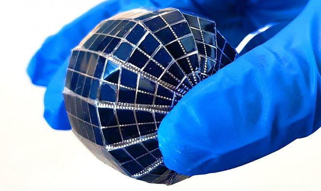 Сферическая солнечная панель