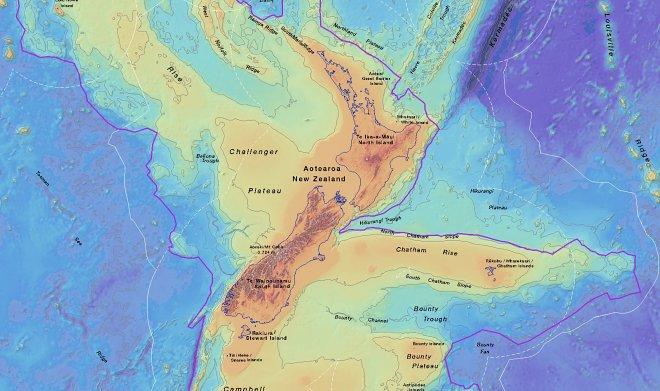 Карта Зеландии