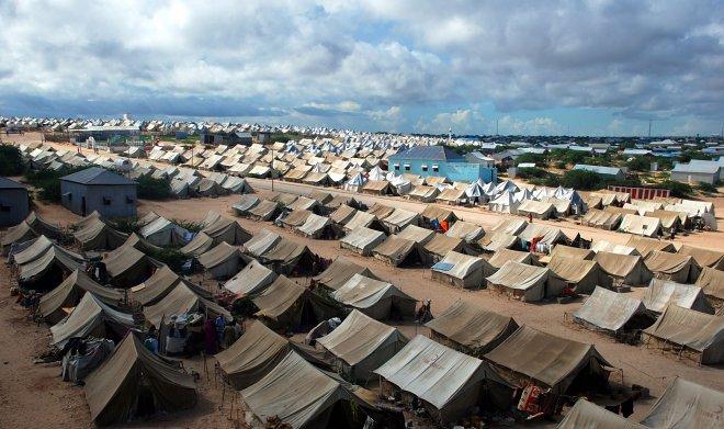 Лагерь беженцев