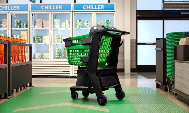 Система Amazon Dash Cart