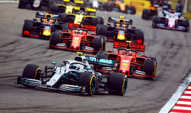 Болиды F1