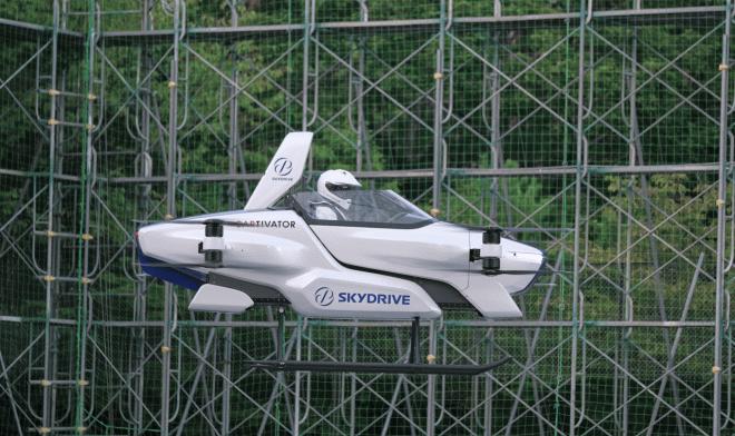 Коптер SkyDrive