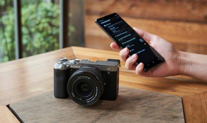 Камера Sony alpha 7C