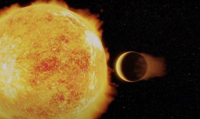 Астрономы обнаружили планету-ад, накоторой год пролетает за один день