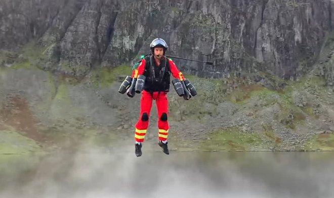 Джетпак для спасателей