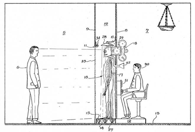 В 1930-х в США запатентовали ожившего мертвеца для допроса преступников