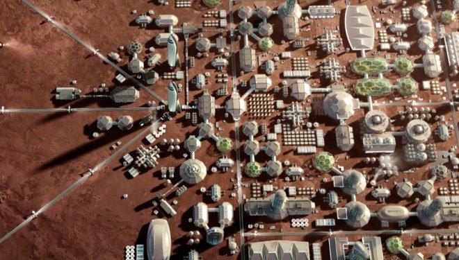 Марсианская колония