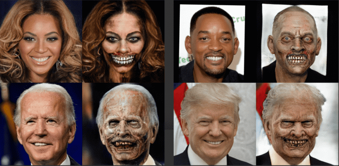 Проект Make Me A Zombie