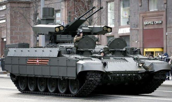 Российская армия пополнилась первыми «Терминаторами»