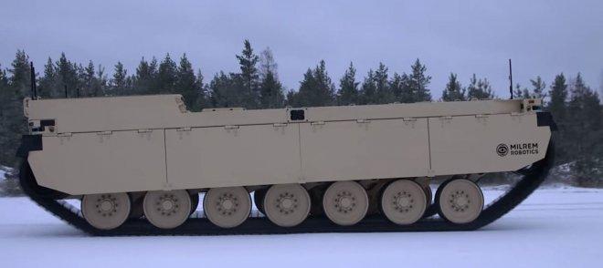 Роботизированная боевая машина Milirem Type-X отправилась на испытания