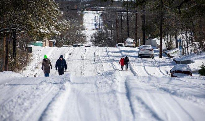 Зима в Техасе
