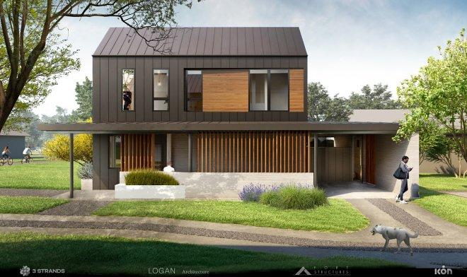 Напечатанный дом