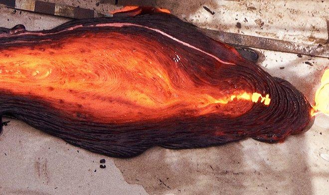 Искусственный вулкан