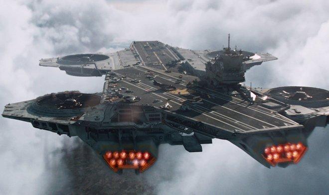 Авианосец Helicarrier