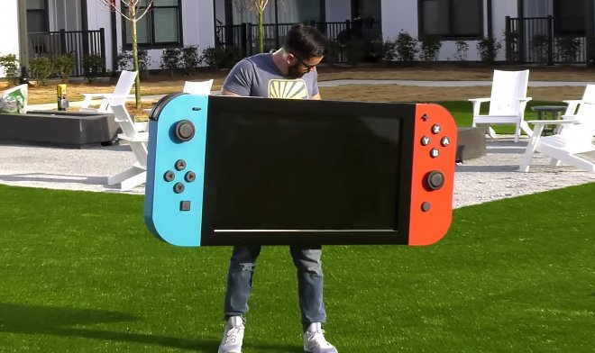 Nintendo Mega Switch