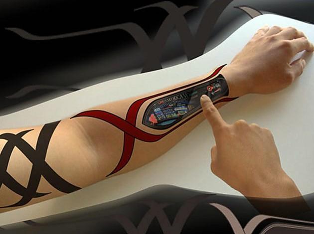 Татуировки будущего