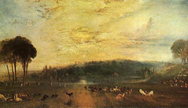 М. Тернер Закат в парке Петворт
