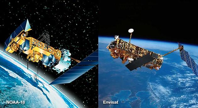 Мониторинг волн из космоса